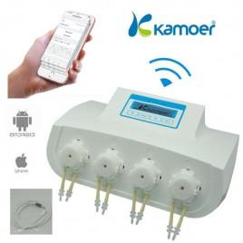 KAMOER X4 Wifi pompe doseuse + 4 Liquid Sensor