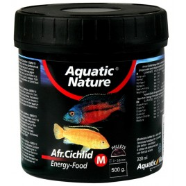 Aquatic Nature Cichlid Energy food medium 130 gr