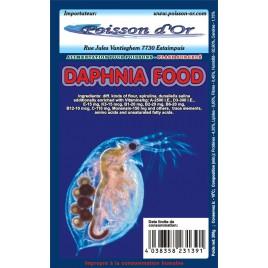 Aliment surgelé daphnies 500gr lot de 4 plaques de 500gr