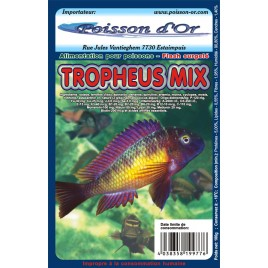 Aliment surgelé mix tropheus lot de 20 plaquettes de 100gr