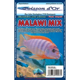Aliment surgelé mix malawi lot de 20 plaquettes de 100gr