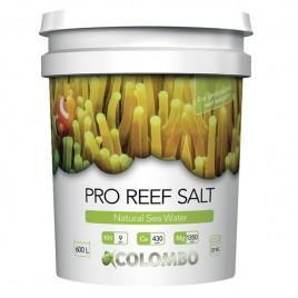 Colombo natural reef salt 22kg seau