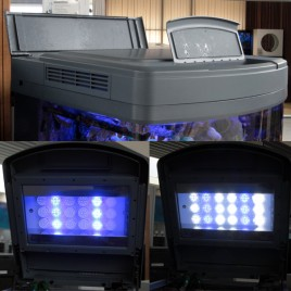 Sera couvercle LED pour aquarium Sera 130