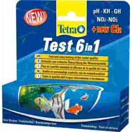 Tetra test bandelette 6 in 1
