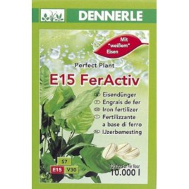 Dennerle E15 FerActive 40 tablettes
