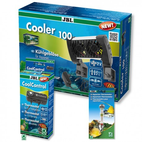 Kit JBL Cooler 100 + Coolcontrol + thermomètre JBL (offre spécial)