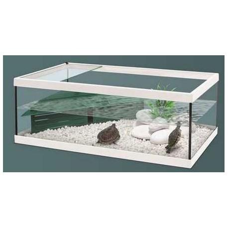 Aquatlantis bac tortue tortum 100cm blanc for Aquarium tortue