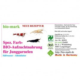 Granules BIO pour bébé crevettes 20gr art:80501