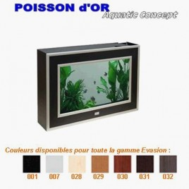 Aquarium Aquaplasma Evolution 72 72x16x47cm 40 litres complet