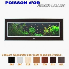 Aquarium Aquaplasma Evolution 110  110x18x42cm 66 litres complet