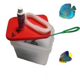 Kit d'aclimatation pour poissons eau de mer ou eau douce