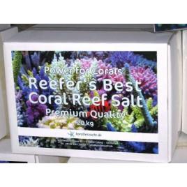"""Reefer´s Best Coral Reef, Sels de qualité """"Premium"""" 20kg"""