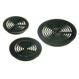 Aqua medic grille ronde 50mm noire