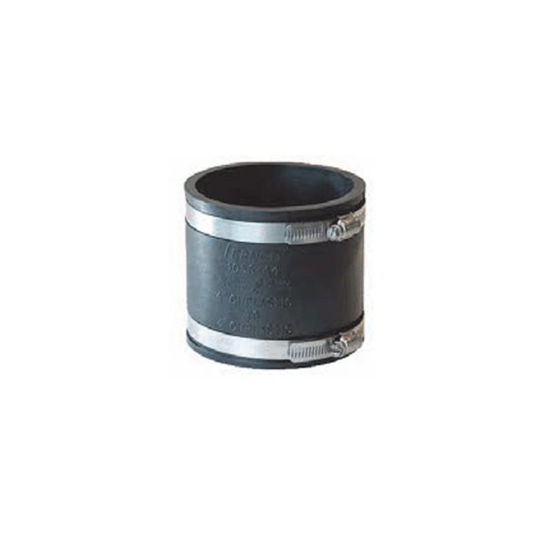 manchon souple 90 mm avec colliers de serrage. Black Bedroom Furniture Sets. Home Design Ideas