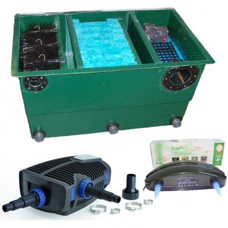 kit de filtration n 1 pour bassin. Black Bedroom Furniture Sets. Home Design Ideas