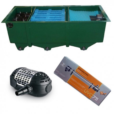 kit de filtration n 8 pour bassin. Black Bedroom Furniture Sets. Home Design Ideas