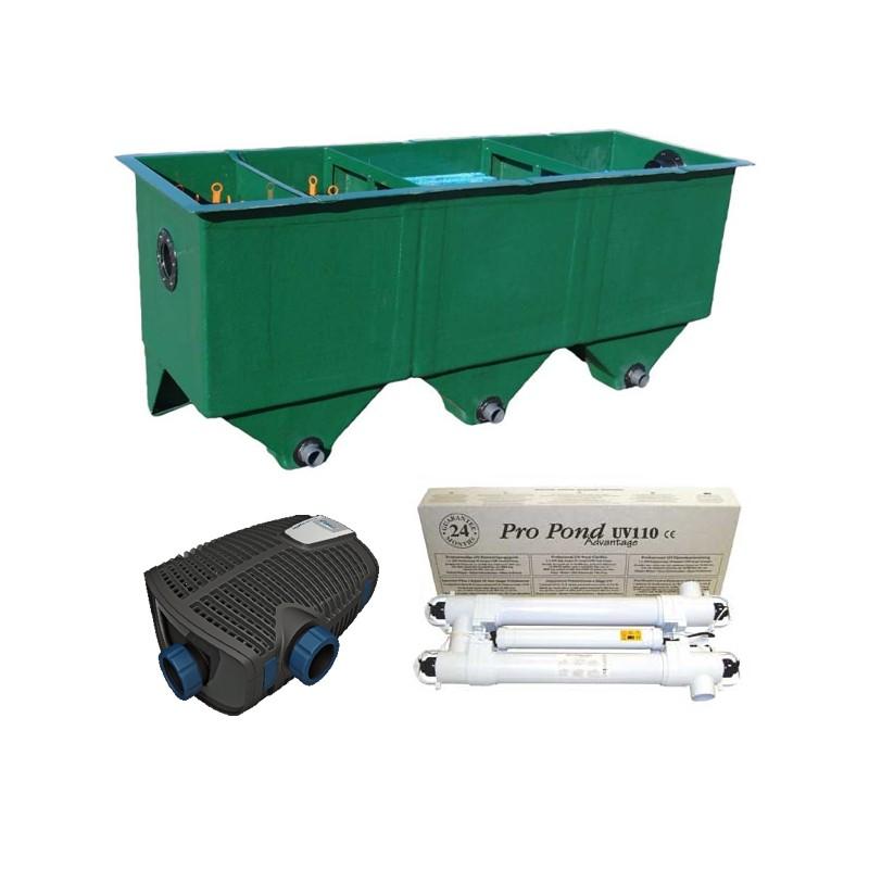kit de filtration n 9 pour bassin. Black Bedroom Furniture Sets. Home Design Ideas