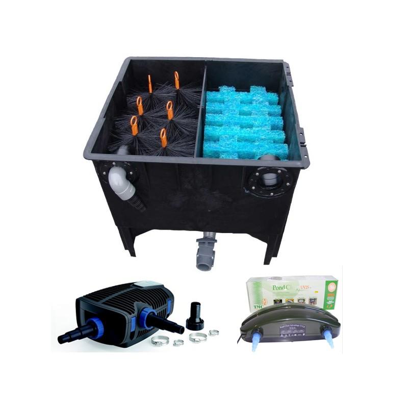 kit de filtration n 12 pour bassin. Black Bedroom Furniture Sets. Home Design Ideas