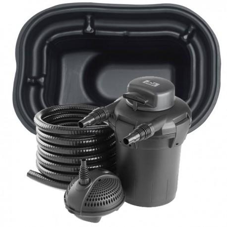 Kit de filtration bassin pr form 250 litres for Bassin poisson 250 litres