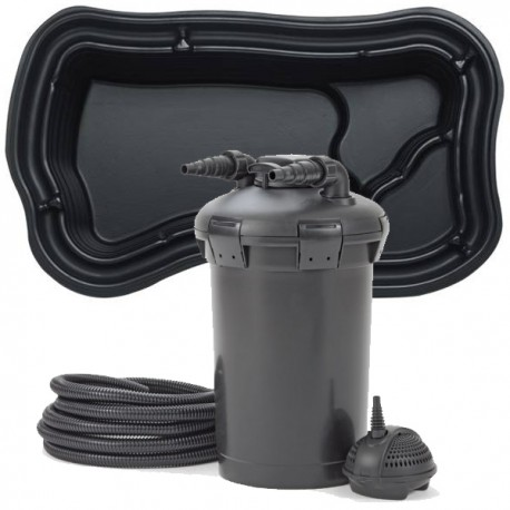 kit de filtration bassin pr form 1000 litres. Black Bedroom Furniture Sets. Home Design Ideas