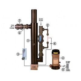 Uvox 250 injection système Venturi