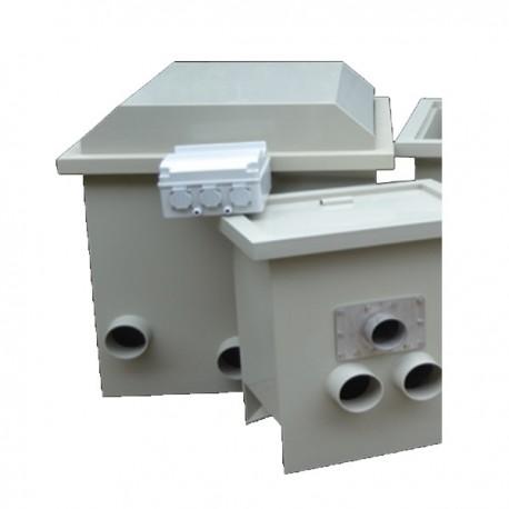 Filtre bassin profidrum eco 65 60 for Filtre bassin poisson