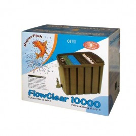 Superfish FlowClear 10000 + UV 11w + Pompe 5000l/h