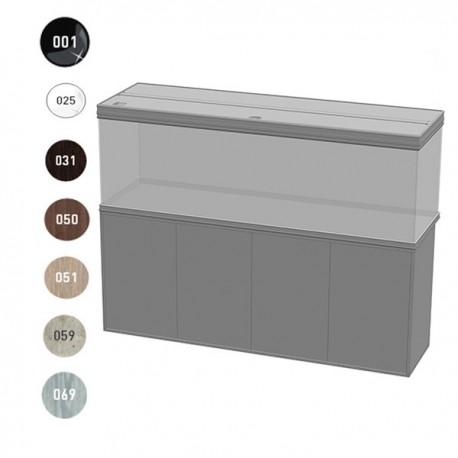 aquatlantis meuble fusion 200x60x83cm portes bois 40mm. Black Bedroom Furniture Sets. Home Design Ideas