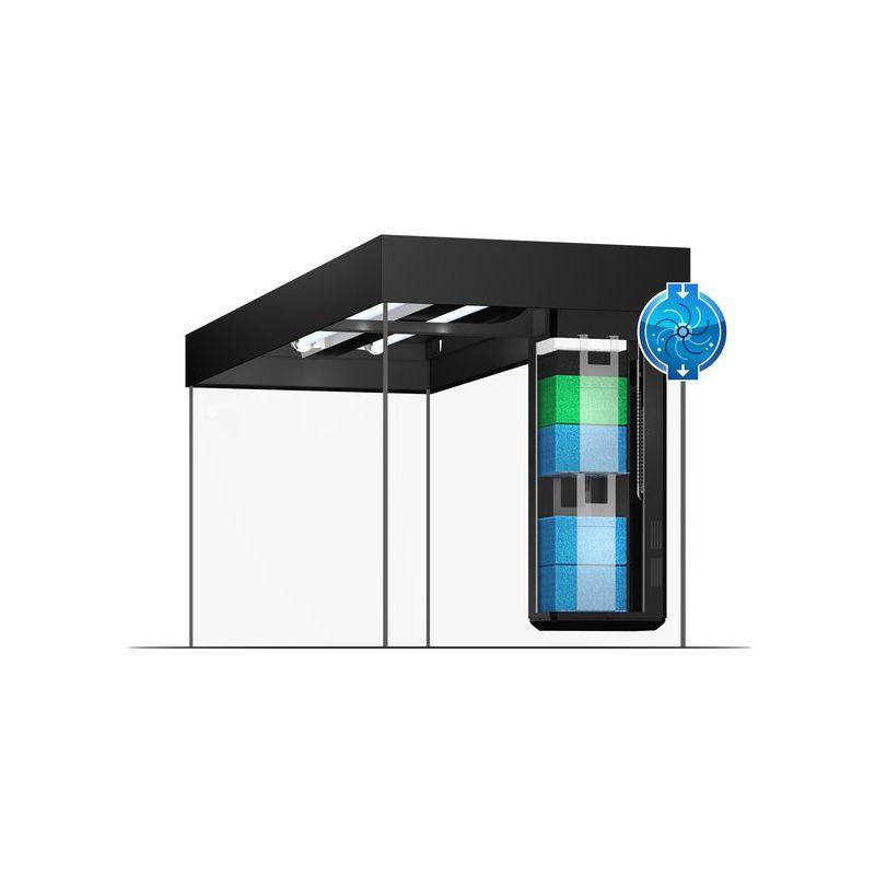 juwel aquarium lido 120 line led blanc avec meuble. Black Bedroom Furniture Sets. Home Design Ideas