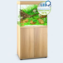 Juwel Aquarium Lido 200 Line LED light wood avec meuble