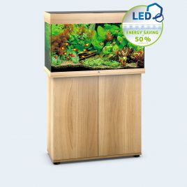 Juwel Aquarium Rio 125 Line LED light wood avec meuble