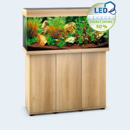 Juwel Aquarium Rio 180 Line LED light wood avec meuble avec portes