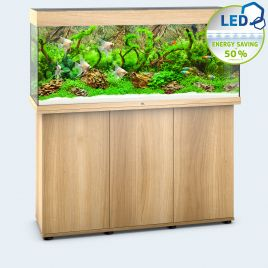 Juwel Aquarium Rio 240 Line LED light wood avec meuble