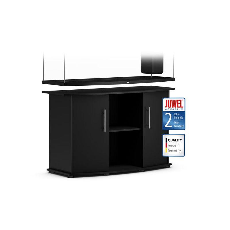 juwel aquarium vision 450 line noir avec meuble avec portes. Black Bedroom Furniture Sets. Home Design Ideas
