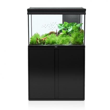 Aquatlantis aquarium elegance expert 80 complet avec for Aquarium avec meuble