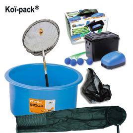 Pack accessoires 1 pour pêche et manipulation des Koïs jusque 80 cm