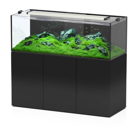 Aquatlantis aquarium aquaview 150 complet eau douce for Aquarium eau douce pas cher
