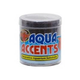 Zoomed gravier aqua accents midnight black 227gr