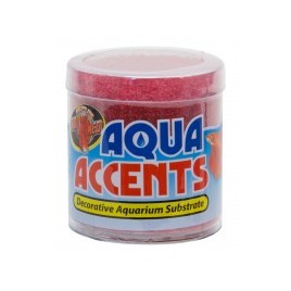 Zoomed gravier aqua accents radical red 227gr