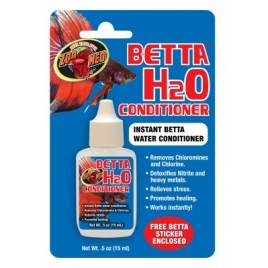 Zoomed betta H2O conditionneur