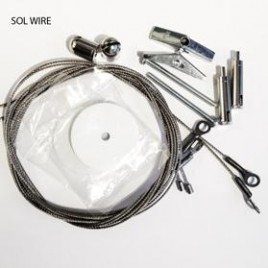 AI câbles de suspension pour rail Sol-Wire