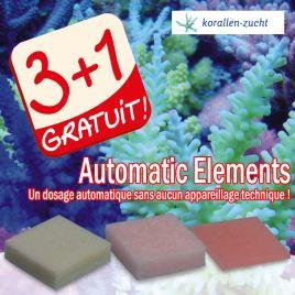 Automatic Elements lot de 4 produit dont un gratuit