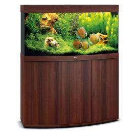 Juwel Aquarium Vision 260 Line LED bois brun avec meuble avec portes