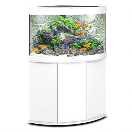juwel aquarium trigon 190 line led ligh blanc avec meuble. Black Bedroom Furniture Sets. Home Design Ideas