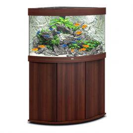 Juwel Aquarium Trigon 190 Line LED bois brun avec meuble avec portes