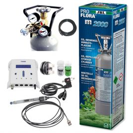 Kit co² pour réacteur à calcaire avec bouteille co² 2kg + pH/CO2 SmartController