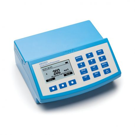 Hanna HI83303 Photomètre, aquaculture avec mémoire et USB, 230V
