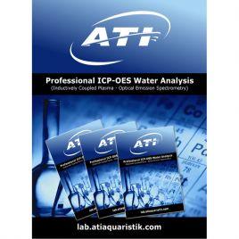 ATI ICP-OES Water Analysis Set 3 Pcs.