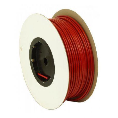"Tubing 1/4"" rouge en polyéthylène au mètre"