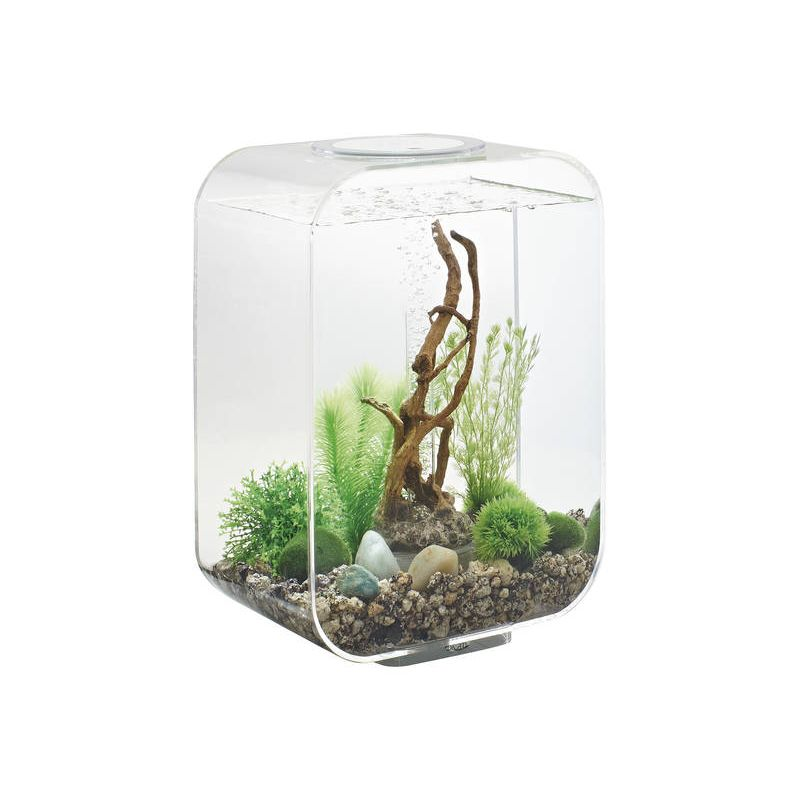 oase aquarium biorb life 15 led clair. Black Bedroom Furniture Sets. Home Design Ideas